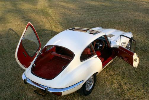 Classic Jag E Type 2+2 V12