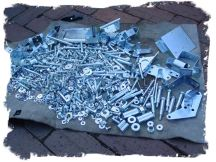 Click to enlarge - Zinc plated components