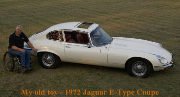 My old E-Type Jaguar