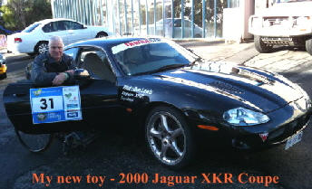 My latest toy - 2000 Jaguar XKR